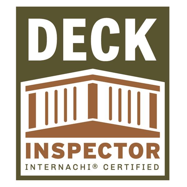 Certified deck inspector logo