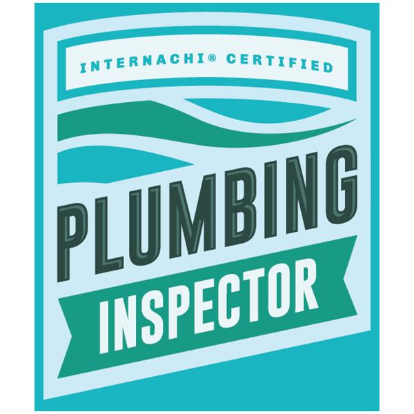 Certified plumbing inspector logo