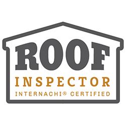 Certified roof inspector logo