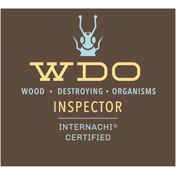 Certified wood destroying organisms inspector logo